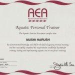 תעודת-מאמנת -כושר-אישית-AEA